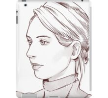 Elizabeth Holmes of Theranos iPad Case/Skin