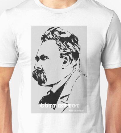 Gott ist Tot - Nietzsche Unisex T-Shirt