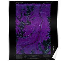 USGS Topo Map Washington State WA White River Park 244662 1971 24000 Inverted Poster