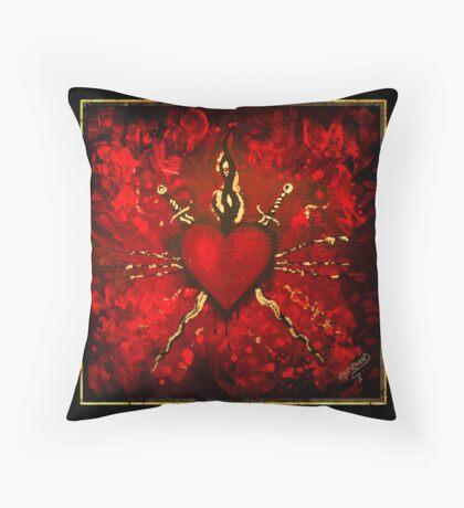 Fur Elise Throw Pillow