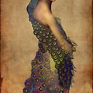 Peacock dress by Catrin Welz-Stein