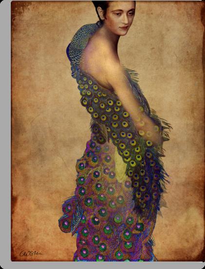Peacock dress by Catrin Welz-Stein