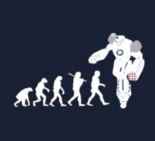 Evolution of a Robot  Kids Tee
