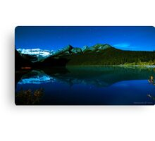 Lake Louise Exposed Canvas Print