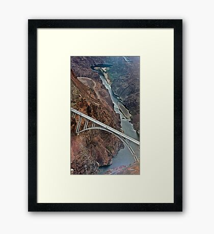 Hoover Dam, Nevada Framed Print