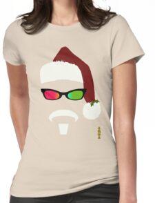 THE ORIGINAL HIPSTA SANTA Womens Fitted T-Shirt