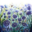 Happy Hydrangeas by  Linda Callaghan