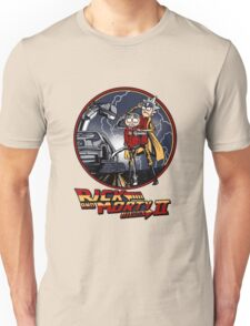 rick and morty back to the future  Unisex T-Shirt