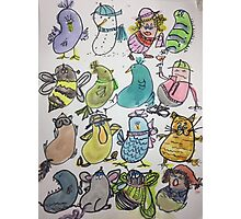 Kidney Doodles  Photographic Print