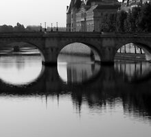 Pont Neuf Bridge, Paris by Barbara Gray