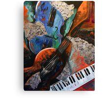 Music Mania Canvas Print