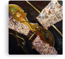 Violin Solo Canvas Print