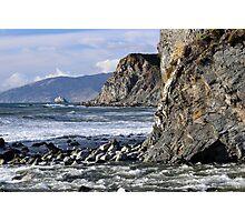 Mouth of Limekiln Creek, Big Sur Photographic Print