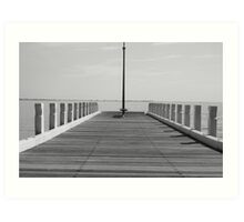 Geelong water front pier Art Print