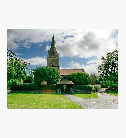 St. Bartholomew Thurstaston Wirral Cheshire Photographic Print