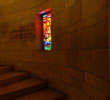Church of the Annunciation, Nazareth Sticker