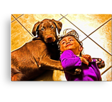 Rusty And M Canvas Print