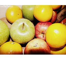 An apple a day.. Photographic Print