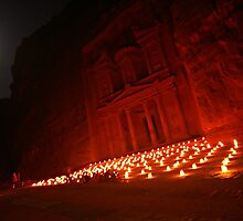 Petra By Night by berndt2
