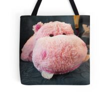 Hippo Commuter Tote Bag