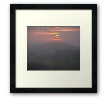 Pastel Morning Framed Print
