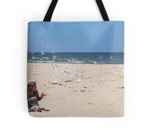 Company at the Beach Tote Bag