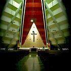 Church of the Gesu by lensbaby
