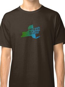 New York is a state of mind - Green/blue Classic T-Shirt