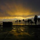Venice sunset after the rain by Henry Murray