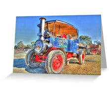 """Steam Power"" Greeting Card"