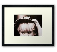 i don't wanna lose you... Framed Print
