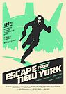 Escape From New York (1981) Custom Poster by Edward B.G.