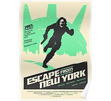 Escape From New York (1981) Custom Poster Poster
