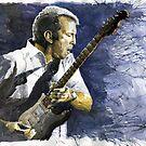 Jazz Eric Clapton 1 by Yuriy Shevchuk