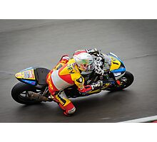 Above the superbike Photographic Print