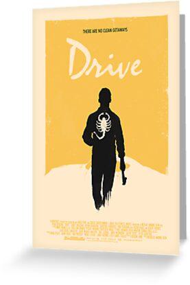 Drive (2011) Custom Poster Variant  by Edward B.G.
