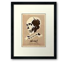 Evil Dead 2 (1987) Custom Poster Framed Print