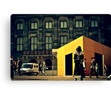 Darth Vader in Amsterdam Canvas Print