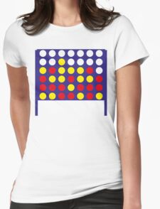 Connect 4 Womens Fitted T-Shirt