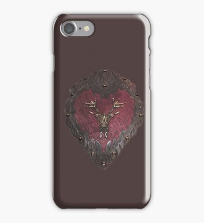 Stannis' armour  iPhone Case/Skin