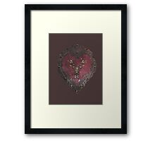 Stannis' armour  Framed Print