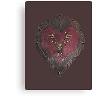 Stannis' armour  Canvas Print
