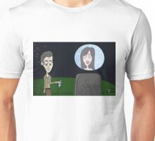 Space Jimmy Significant Mother music video - Moon scene Unisex T-Shirt