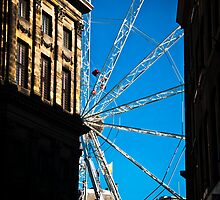 Wheel in Dam square by pahas