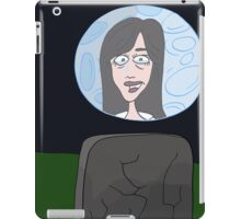 Space Jimmy Significant Mother music video - Moon scene iPad Case/Skin