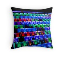 Psychedelic Abode Throw Pillow