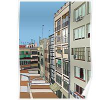 Barcelona inside Poster