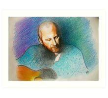 Portrait of Colin.. color pencils :)) Art Print