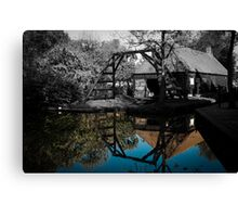 Colorized house  Canvas Print