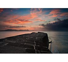 The Cobb Wall Photographic Print